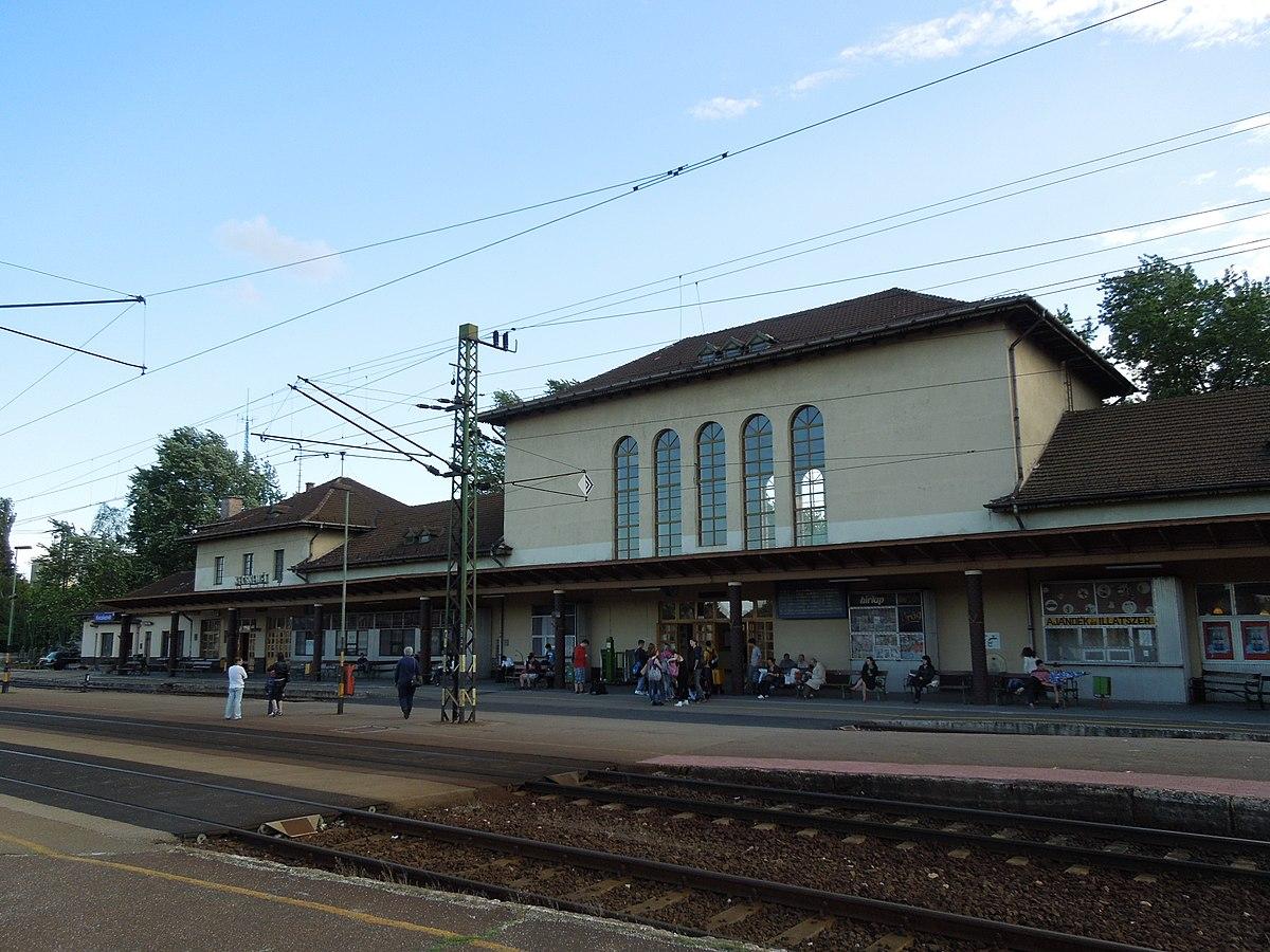 kecskemét vasútállomás térkép Kecskemét vasútállomás – Wikipédia kecskemét vasútállomás térkép