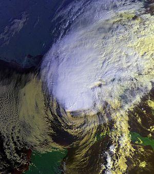 Tropical Storm Keith (1988) - Image: Keith 22 nov 1988 1359Z