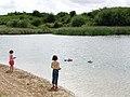 Kelsey Hill Gravel Pit, Burstwick - geograph.org.uk - 216050.jpg