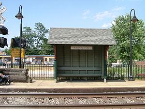 Kensington station (Maryland) - Image: Kenstation