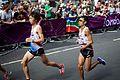Kentaro Nakamoto & Ryo Yamamoto - London 2012 Men's Marathon.jpg