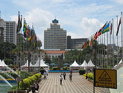 Kenyatta International Conference Center Square.JPG