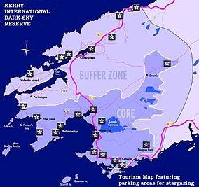 Kerry International DarkSky Reserve Wikipedia - Dark sky map