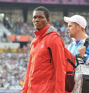 Keshorn Walcott Trinidadian javelin thrower
