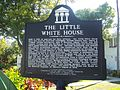Key West FL HD Little White House marker01.jpg