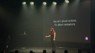 MysteryVibe - MysteryVibe's co-founder giving a talk at Slush conference in Helsinki, 2016