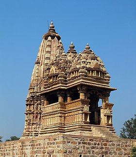 Javari temple at Khajuraho