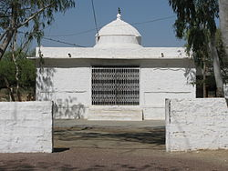 Bishnoi temple commemorating the Khejarli Massacre