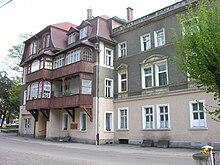 Fotografie domu, kde byl Kieślowski vychován