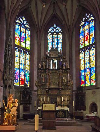 Kiedrich - Interior of Saint Valentine