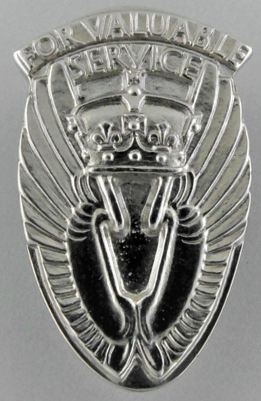 King's Commendation for Valuable Service in the Air