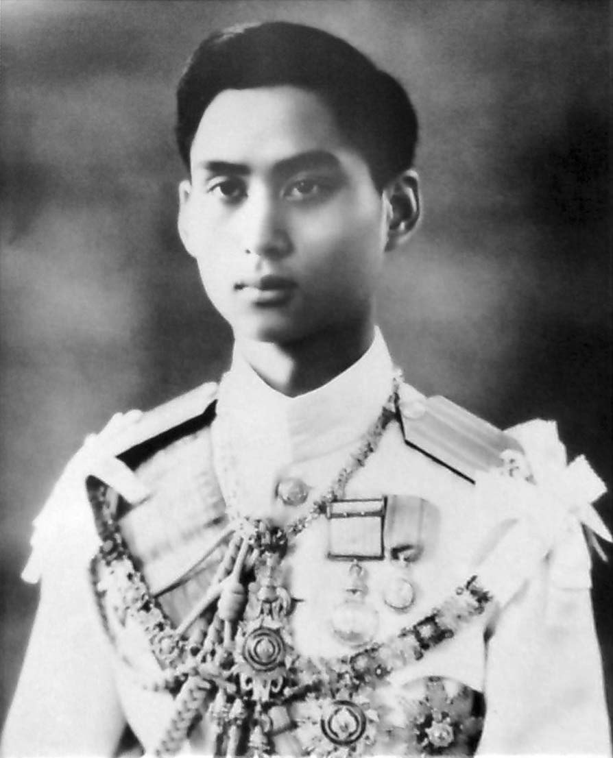 King Ananda Mahidol portrait photograph