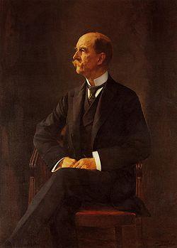 Ο Γεώργιος Α΄, στα τέλη της βασιλείας του, Πίνακας του Γεώργιου Ιακωβίδη, 1910