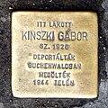 Kinszki G stolperstein Bp14 Róna121.jpg