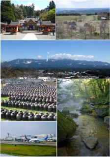 Kirishima, Kagoshima City in Kyushu, Japan