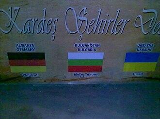 Kırklareli Province - Sister cities (Kardeş şehirler)