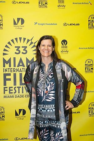 Kirsten Johnson - Director Kirsten Johnson at the Miami Film Festival presentation of CAMERAPERSON