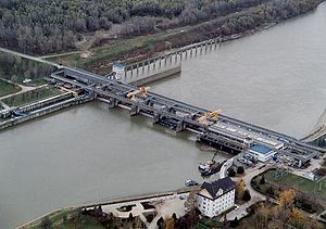 Renewable energy in Hungary - Kisköre Dam