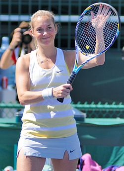 Koukalova en el Indian Wells 2013