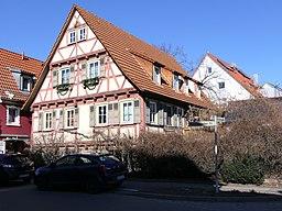Kleinheppacher Straße in Weinstadt