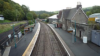 Knighton railway station