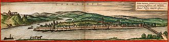 Koblenz - Koblenz in the 16th century