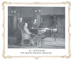 Raoul Koczalski Polish pianist