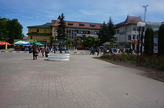 Kolomyia - Central part of Kolomyja