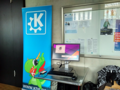 Konqi poster in Augsburger Linux-Infotag 2016.png