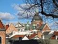 Kosciol Sw. Piotra i Pawla - widok z Wawelu 2.JPG