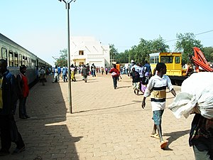 Koudougou-TrainStation