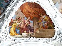 Kremsmünster Stiftskirche - Frescos AT Salomos Urteil.jpg