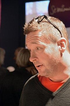 Kristian Lundberg på Bogmessen 2013.