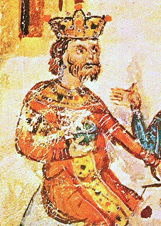 Krum - A 14th century depiction of Krum