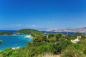 Ksamil Islands - Image: Ksamil albanian riviera