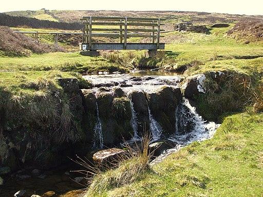 Kyloe Beck FB and watersplash - geograph.org.uk - 1810246