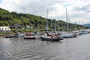 L'Anse-Saint-Jean, Quebec - Image: L'Anse Saint Jean, Quebec marina