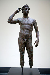 sculpture by Lysippos
