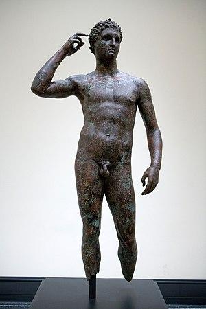Lysippos - Image: L'atleta di Fano