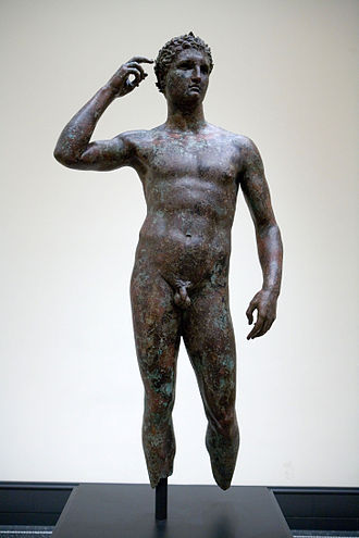 Getty Villa - Victorious Youth, part of the museum's collection
