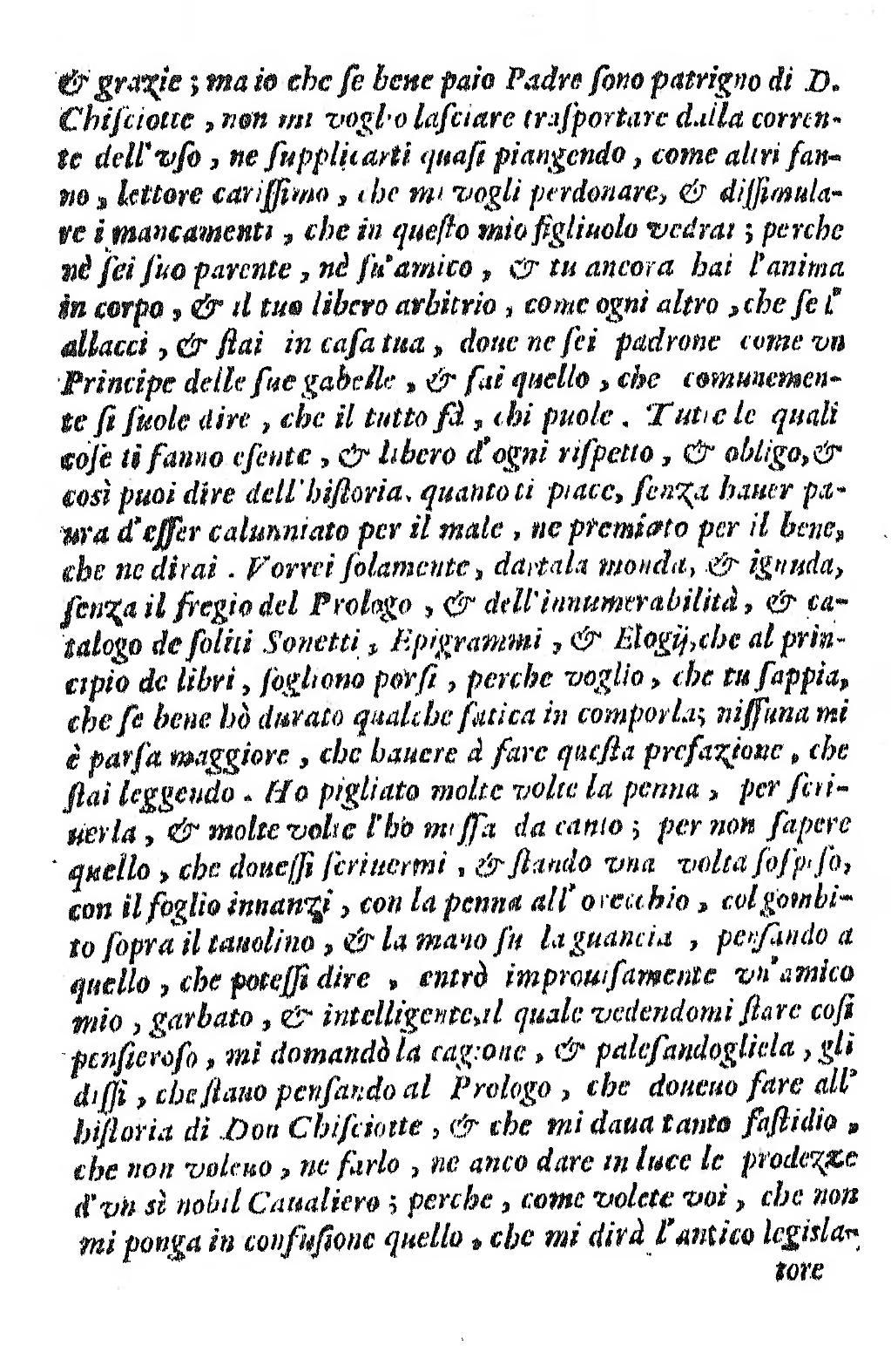 I Donchisciotte Del Tavolino.Pagina L Ingegnoso Cittadino Don Chisciotte Della Mancia Djvu 9