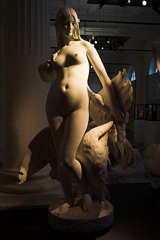 Musée de Picardie - Leda and the swan by Jules Roulleau.
