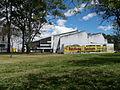 Líneas rectas, Edificio de Arquitectura, Universidad Nacional.JPG