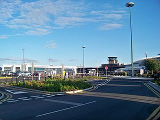 international airport in West Yorkshire, England
