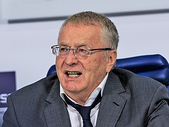 Vladimir Zhirinovsky - Image: LDPR Vladimir Zhirinovsky Moscow Tass 08 2016