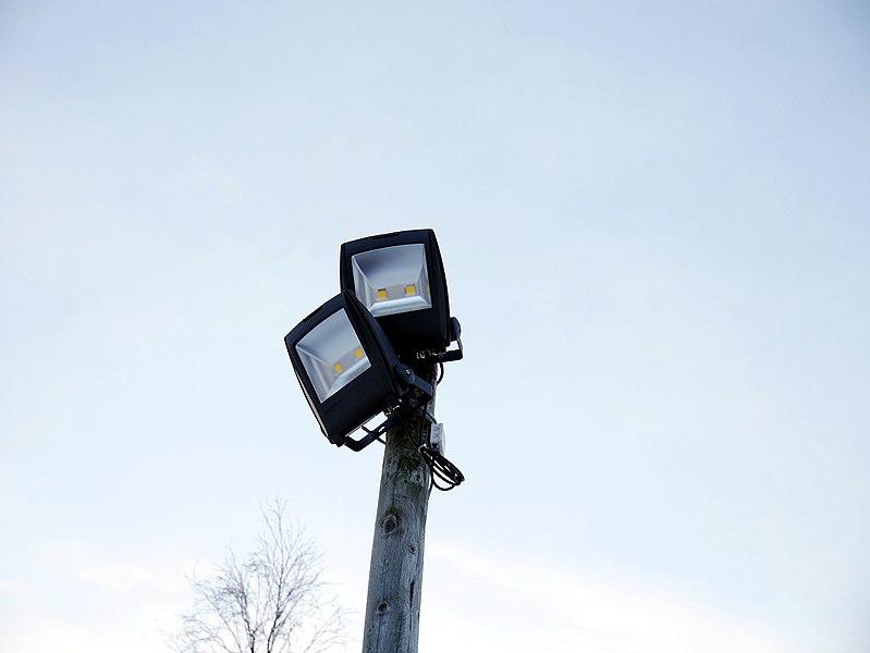File:LED floodlights.jpg