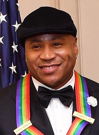 LL Cool J - LL Cool J receiving the 2017 Kennedy Center Honors