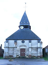 The church in Lœuilly