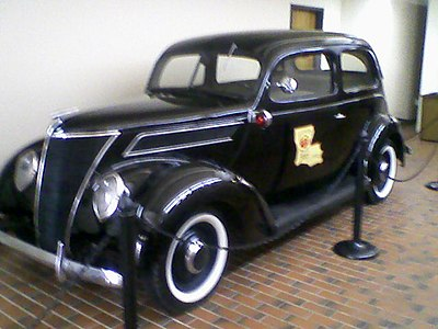1937 Ford - Louisiana State Police Patrol Car