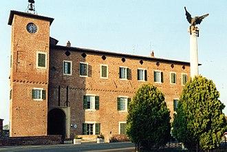 Borgonovo Val Tidone - The Rocca (castle), the current town hall.